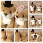 ウェディングドール 柴犬 NEW Wedding Doll 日本製 【ウェルカムドール/ウェディングぬいぐるみ/ウェルカムドッグ/ウェディングドッグ/ブライダル/結婚祝い/犬/いぬ/イヌ/dog】